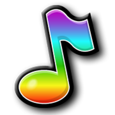 9 Colorful Music Note Designs Images