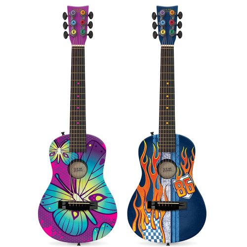 Cool Acoustic Guitar Paint Designs