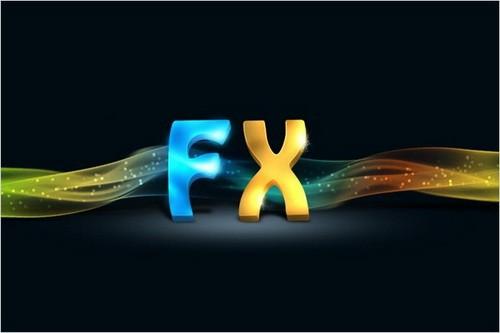 Create 3D Text Effect Photoshop