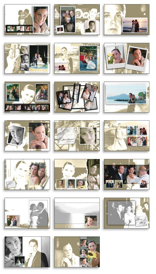 Creative Album Psd Wedding Collection