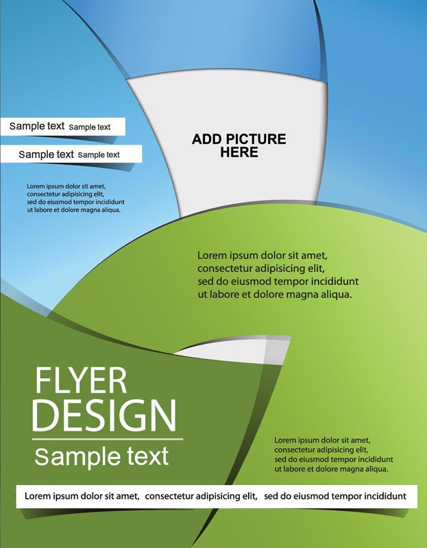 8 Vector Design Brochures Covers Images