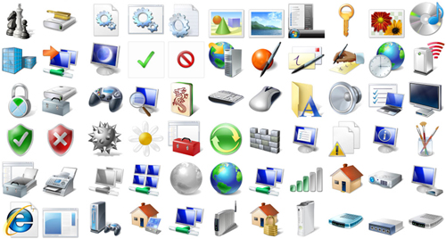 how to add program icons to desktop on windows 7