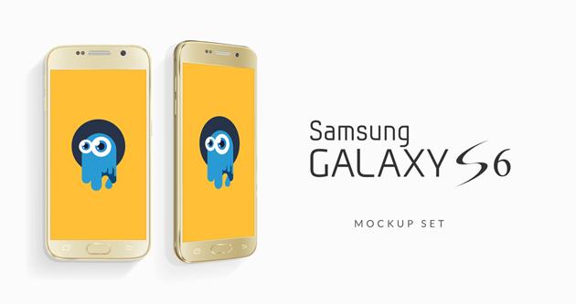 Edge Samsung Galaxy S6 Mockups