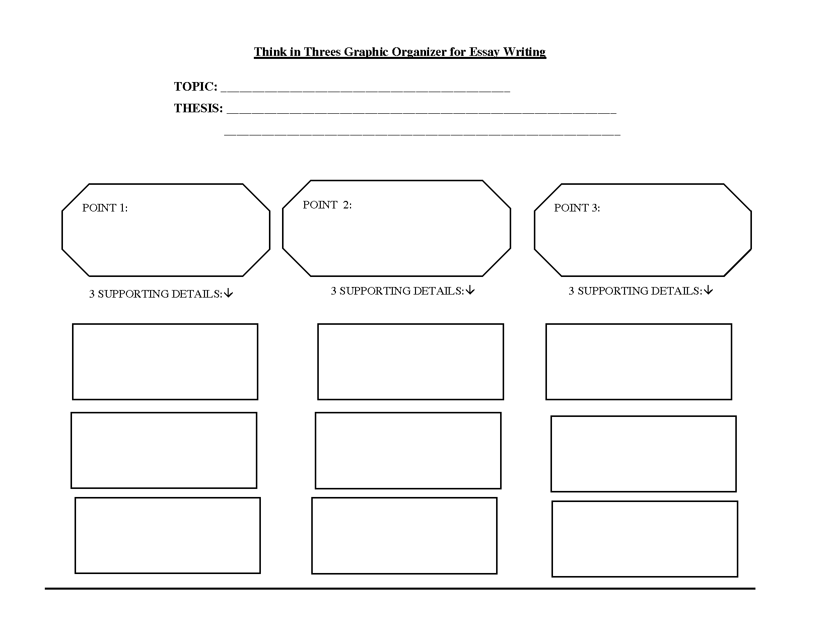 Friendly Letter - Graphic Organizer/Prewriting