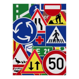 European Traffic Signs