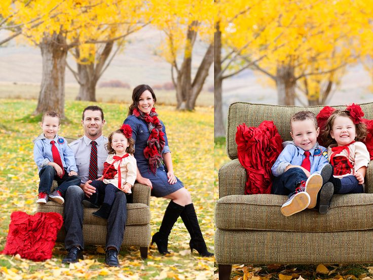 19 Fall Family Photo Color Schemes Images