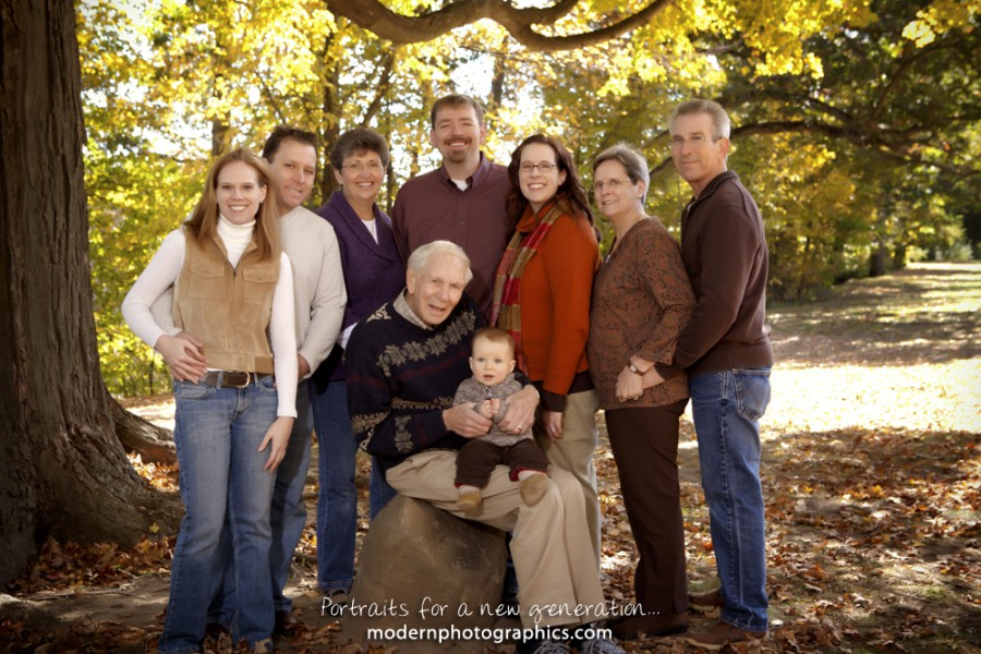 Outdoor Family Portraits Color Scheme For Kids