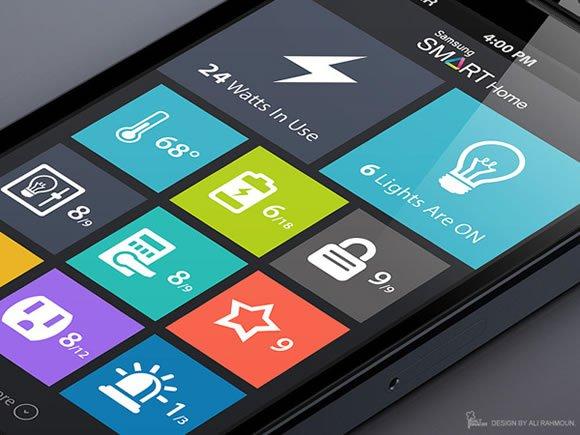 Flat UI Design App