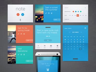 Flat UI Web Design Inspiration