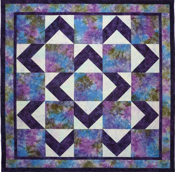Beginner Quilt Patterns Free Download : 12 Free Simple Quilt Designs Images - Crazy Eights Quilt Pattern, Free Easy Machine Quilt ...