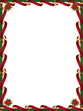 Free Christmas Page Borders Microsoft Word