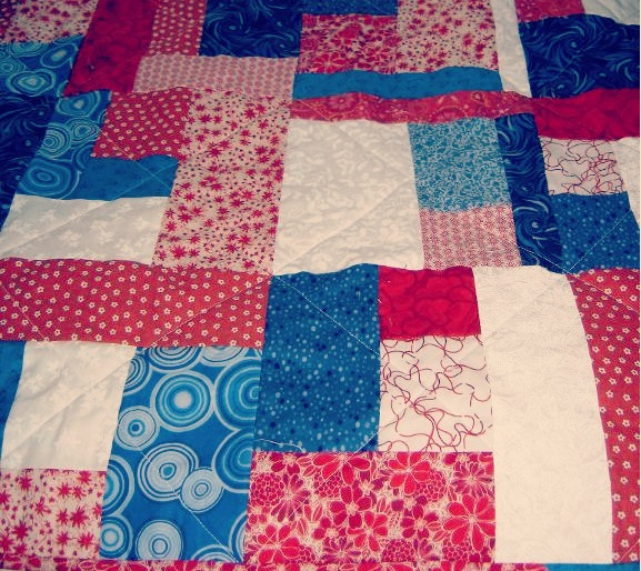 12 Free Simple Quilt Designs Images - Crazy Eights Quilt