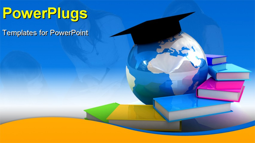Free Global PowerPoint Templates Education