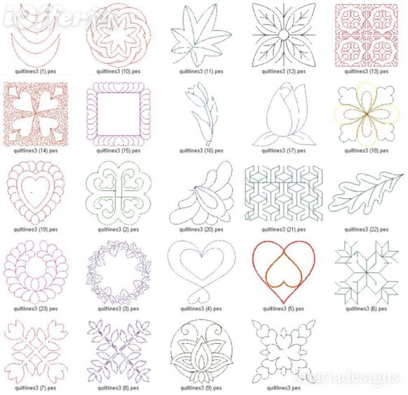 Quilting Designs Free : 14 Embroidery Free Machine Quilting Designs Images - Free Machine Embroidery Quilting Designs ...