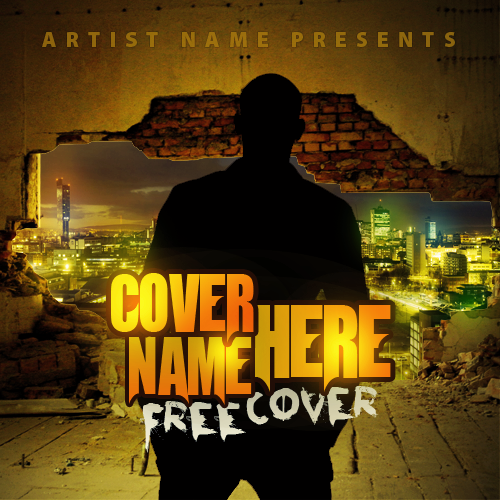 Free Mixtape Cover PSD Templates