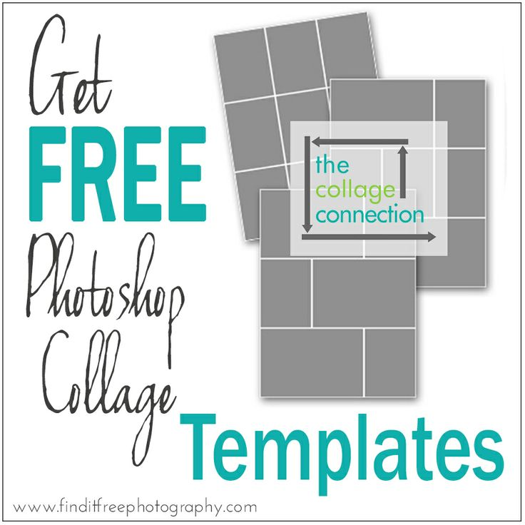 18 Free Photoshop Templates Photography Images - Free