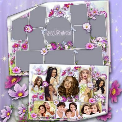 Free Photoshop Collage Templates Psd