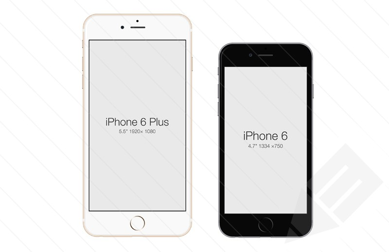 9 Free IPhone 6 Mockup PSDs Images