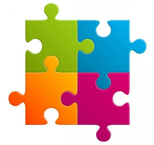 14 Jigsaw Puzzle PSD Images