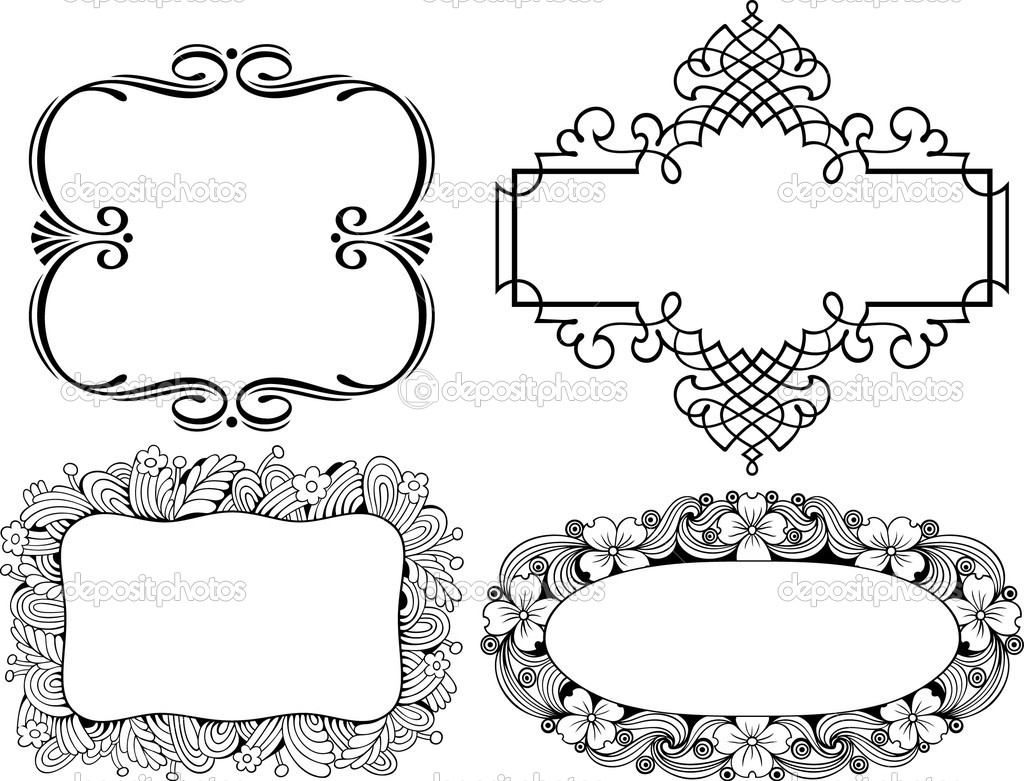 Free Vector Decorative Frames