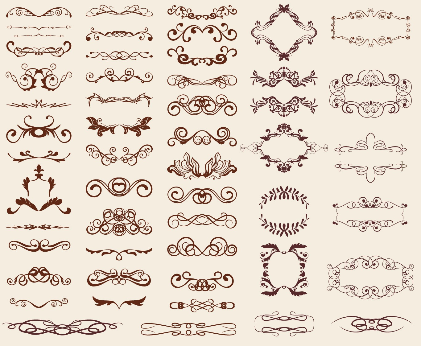16 Vintage Design Elements Images