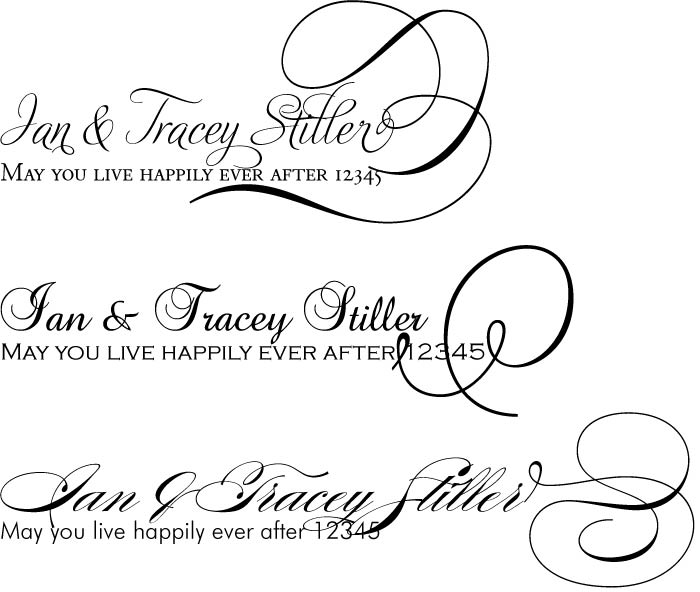 Free Wedding Invitation Fonts