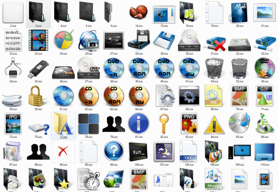 Free Windows 7 Icons Pack