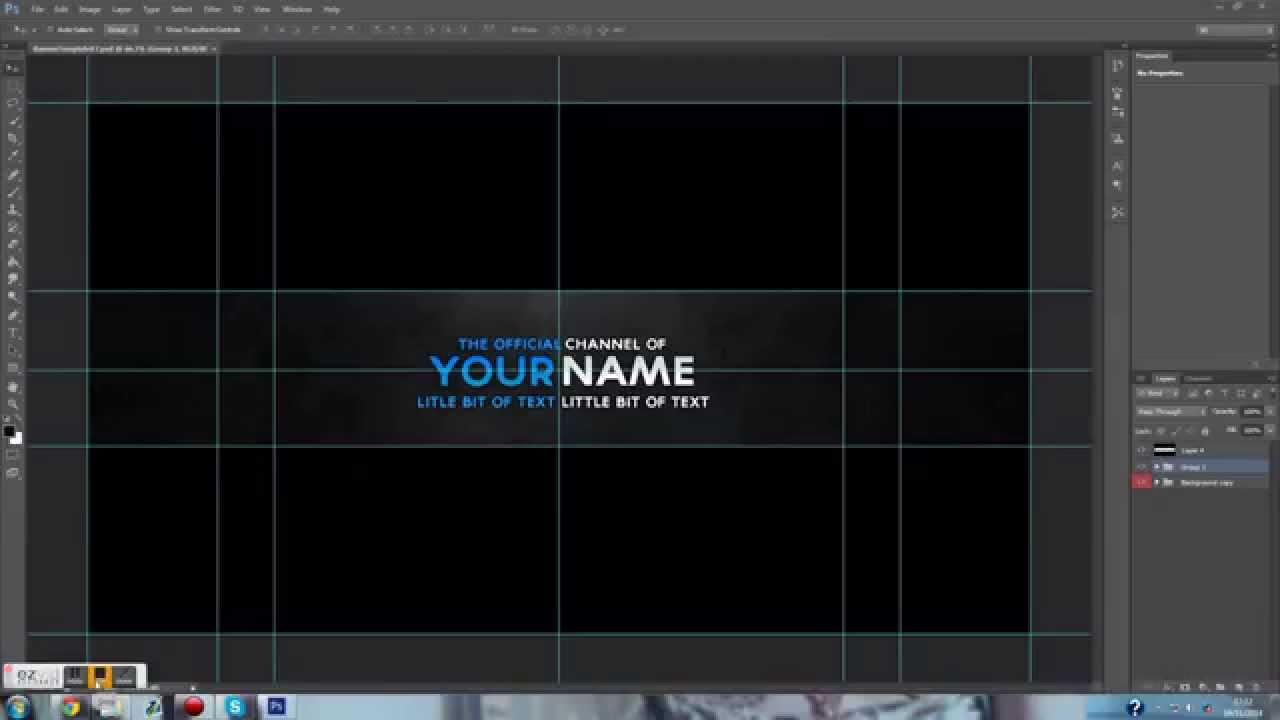 14 youtube banner psd t images free youtube banner template psd