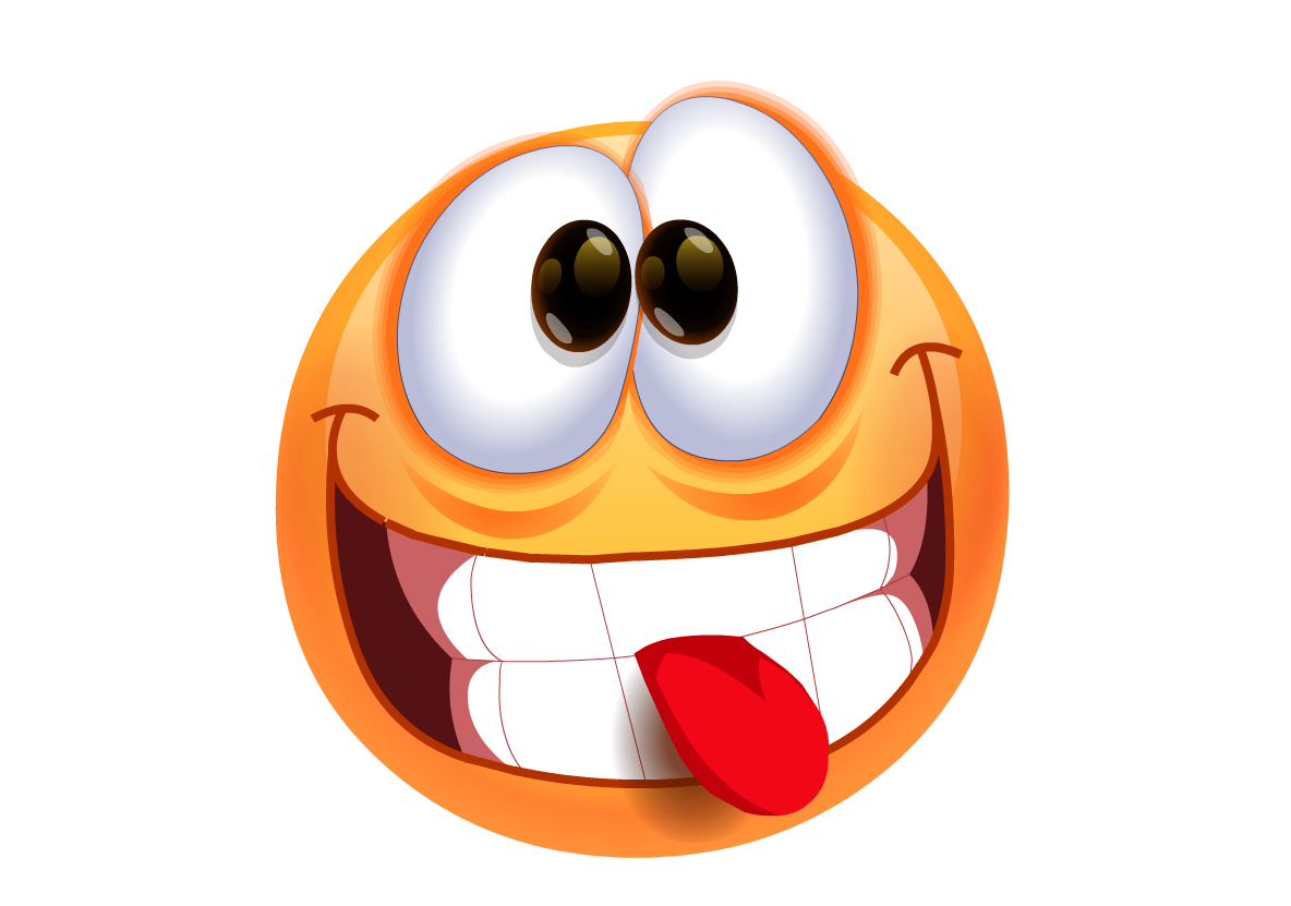 14 Silly Face Emoticon Images