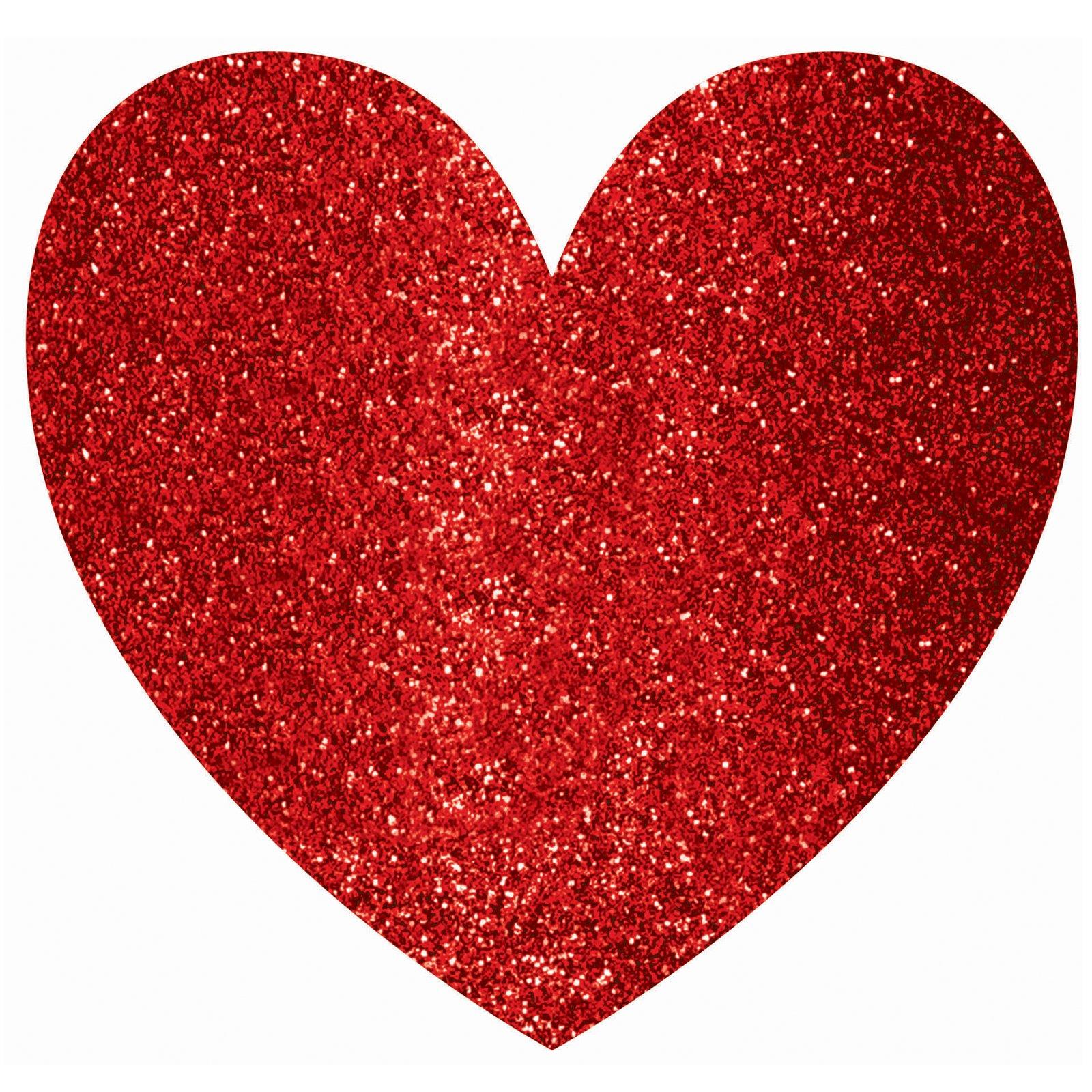 Glitter Valentine's Day Hearts Clip Art
