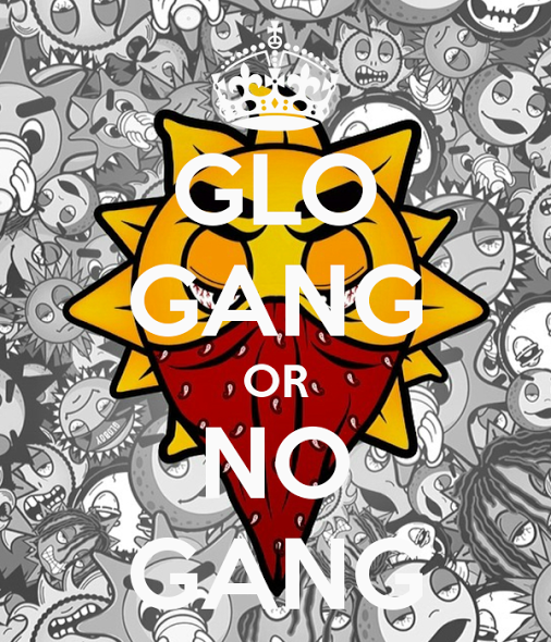 12 Glo Gang PSD Images