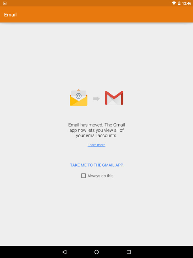 Gmail Android Notification Icon
