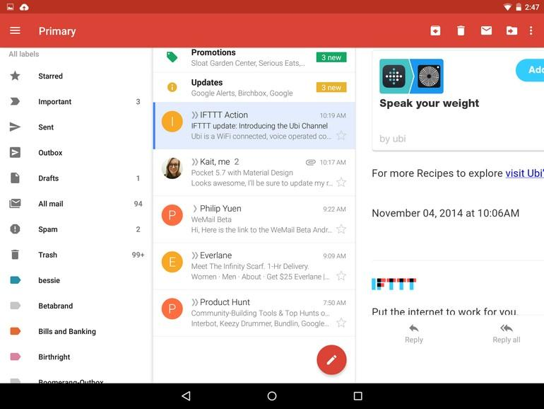 Gmail Icon On Android