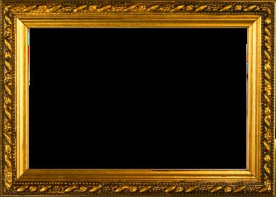 13 PSD Gold Border Frame Images