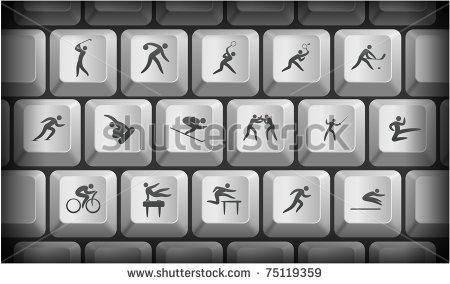 Gray Computer Icon