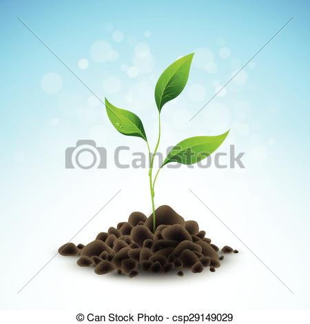 Growing Plant Illustration