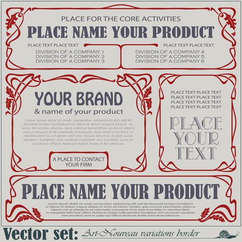 Hand Drawn Border Vectors Free