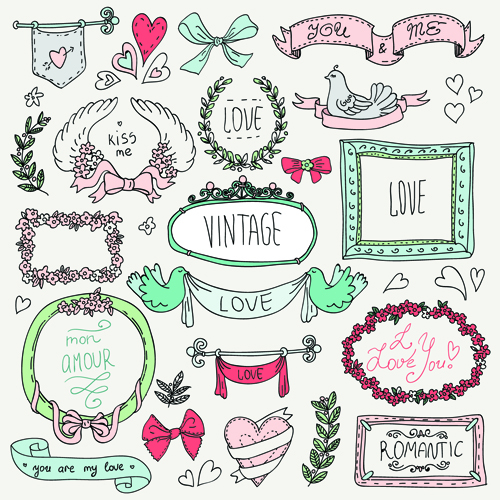 Hand Drawn Frame Vector Free