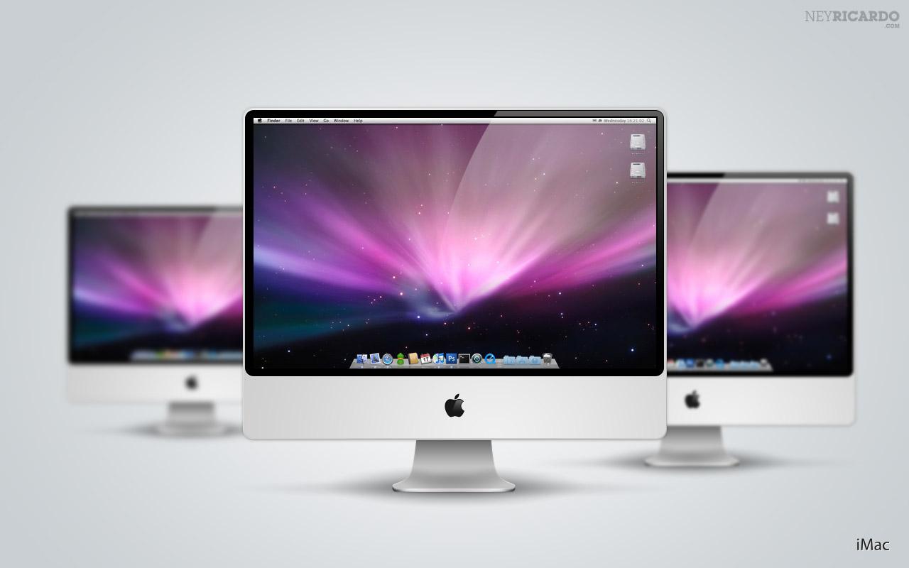 16 IMac PSD Mockup Images