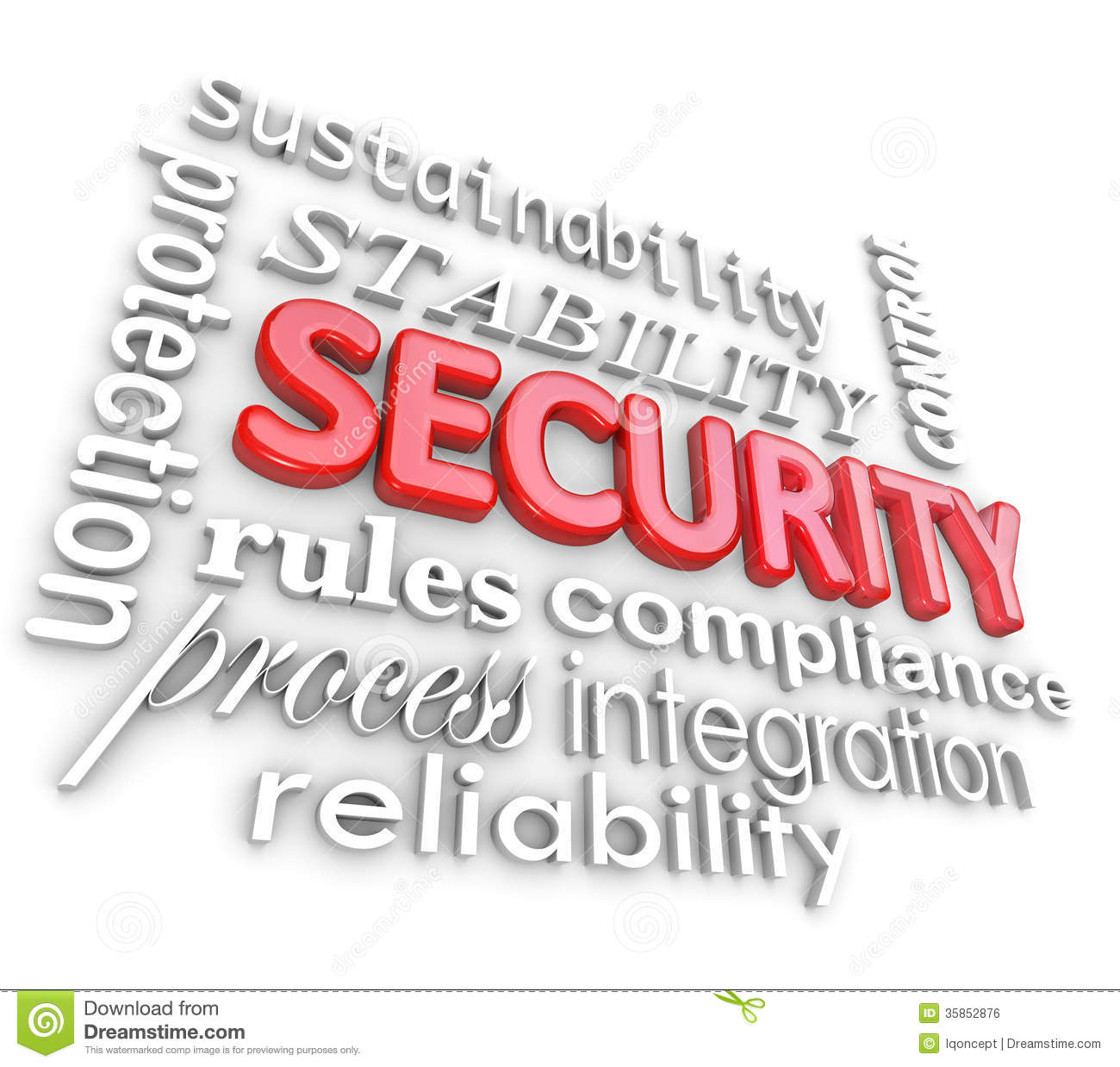 Information Technology Security Clip Art