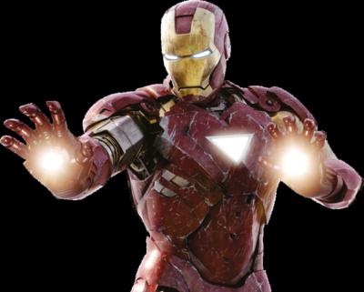 10 Iron Man Logo PSD Images