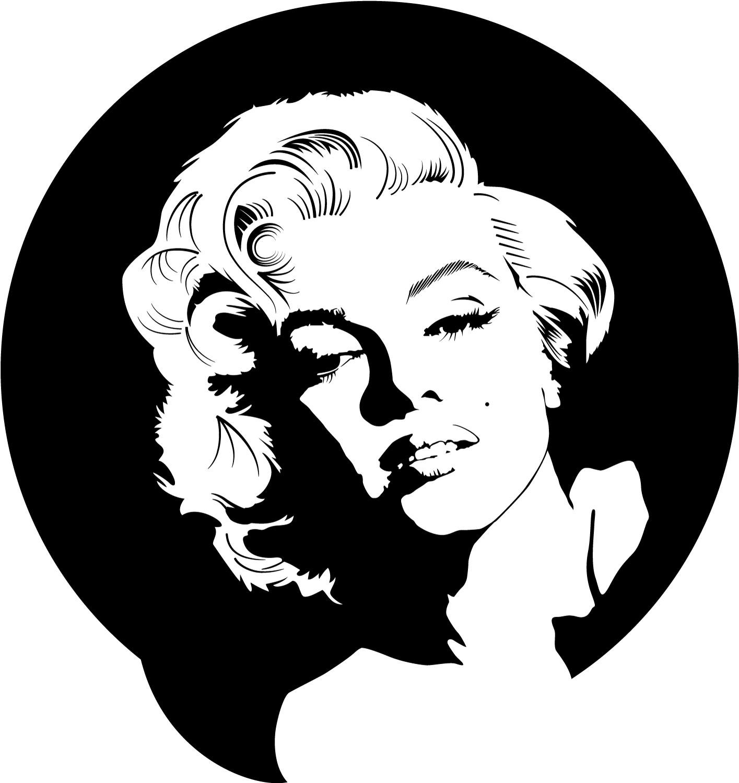 Marilyn Monroe Vector Clip Art