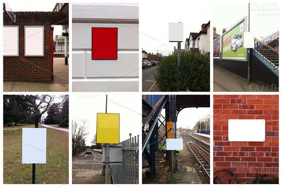 10 Yard Sign Mockup PSD Images