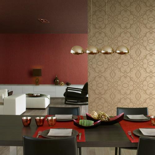 Modern Earth Tone Living Room