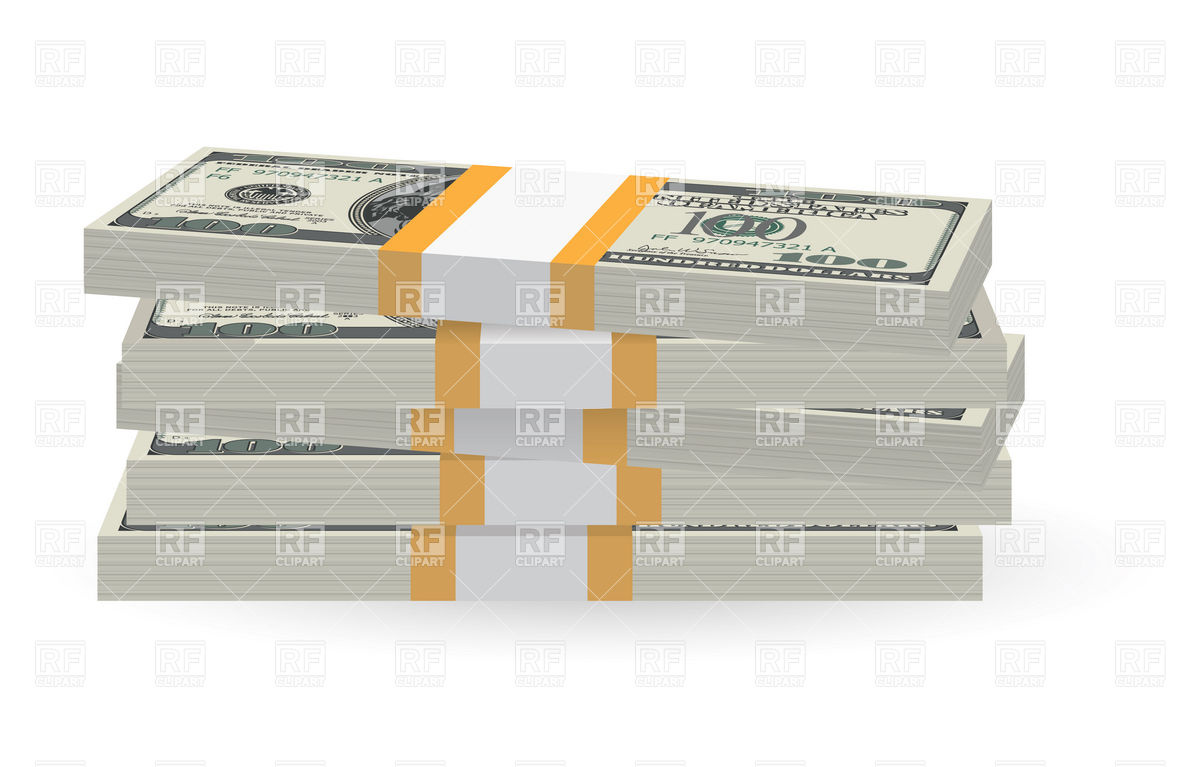 Money Stack Clip Art