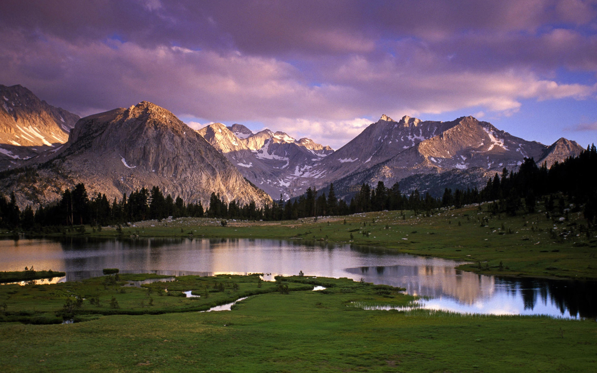 Mountain Landscape Desktop