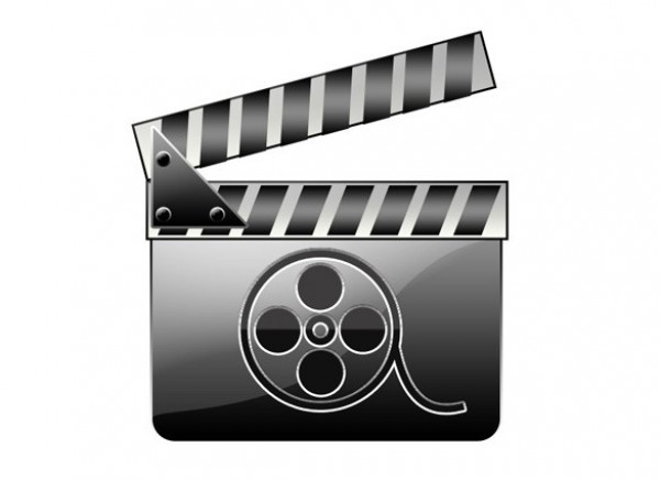 Movie Clapboard Icon