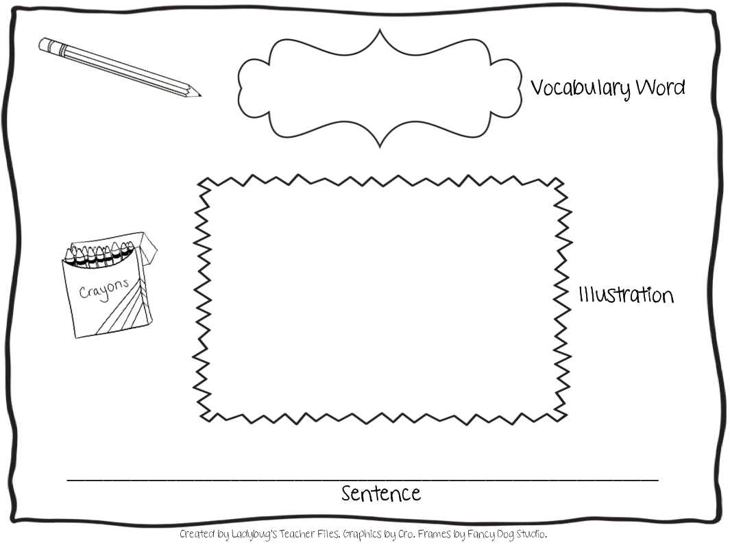 vocabulary graphic organizer templates - 15 graphic organizers for teachers images teaching