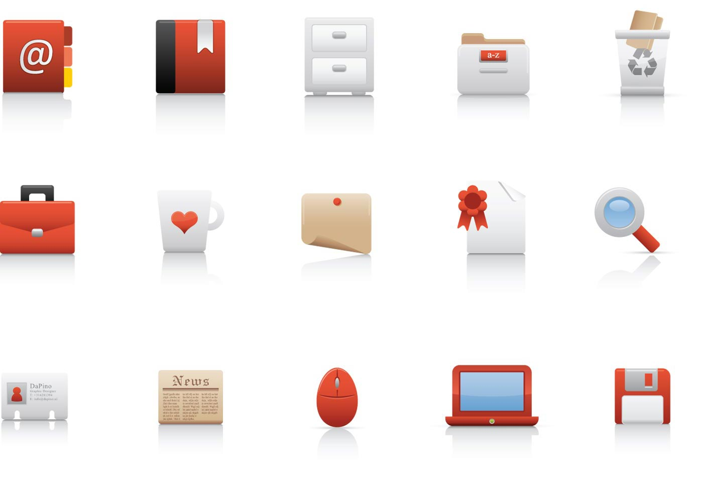 Office Vector Icon Pack