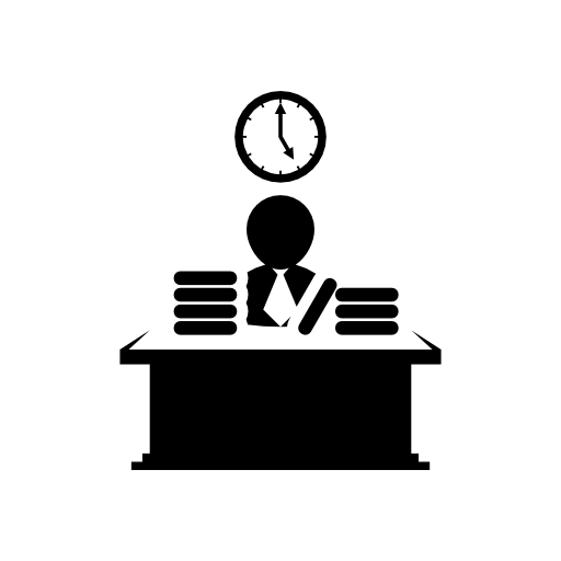 9 Business Office Icon Vector Images Business Icons